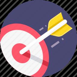 aim, bullseye, darts, goal, marketing, target icon