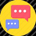 blogging, bubble, bubbles, chat, chat bubble, chatting
