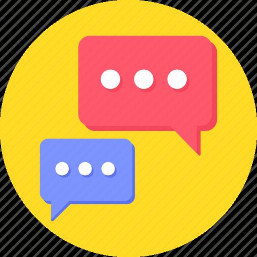 blogging, bubble, bubbles, chat, chat bubble, chatting icon