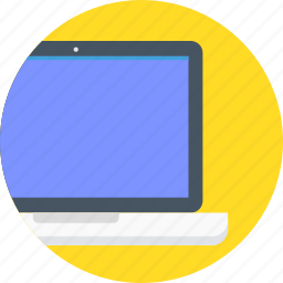 computer, device, laptop, online icon