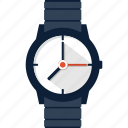 clock, hand, time, watch, wrist, wristwatch icon