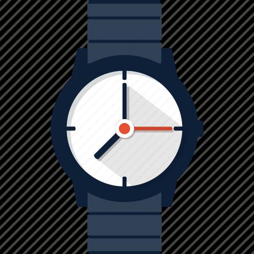 clock, hand, time, watch, wrist, wristwatch icon