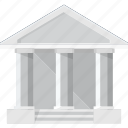 bank, building, deposit, finance, money icon