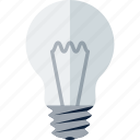 bulb, electric, idea, lamp, light, light bulb icon