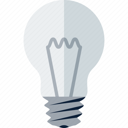 Bulb, electric, idea, lamp, light, light bulb icon - Download on Iconfinder