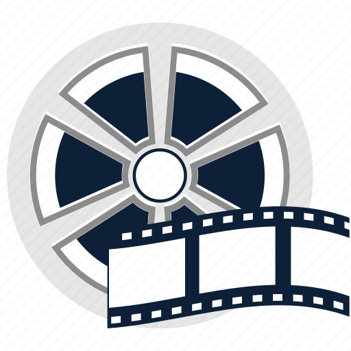 Cinema Film Film Reel Media Movie Reel Video Icon