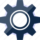 cog, cogwheel, gear, options, settings icon