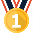 award, badge, medal, prize, ribbon, winner icon