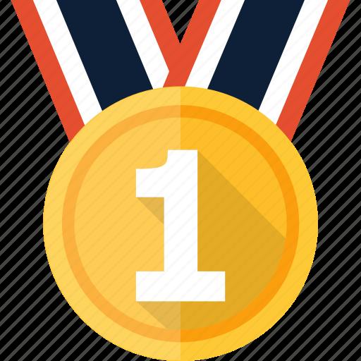 award, badge, medal, prize, ribbon, winner icon