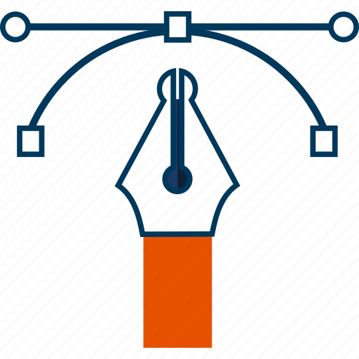 Bezier, design, drawing, pen, tool icon - Download on Iconfinder