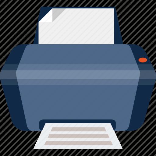 copier, paper, print, printer, printing icon