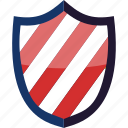 badge, crest, guard, protect, protection, secure, shield icon