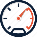 dashboard, fast, gauge, meter, odometer, speed, speedometer icon