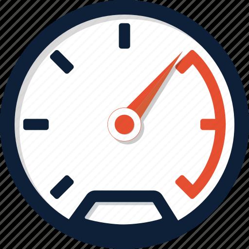 dashboard, fast, gauge, meter, odometer, speed, speedometer icon