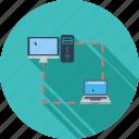 communication, incoming, mix, outgoing, telecommunication icon