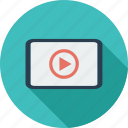 mix, multimedia, play, video icon