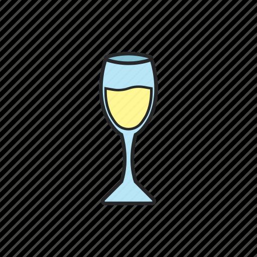drink, glass, glass of wine, wine icon