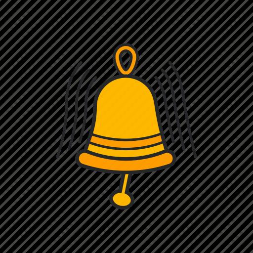 Bell, bell ring, golden bell, ringing icon