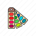 color, design, material, palette icon
