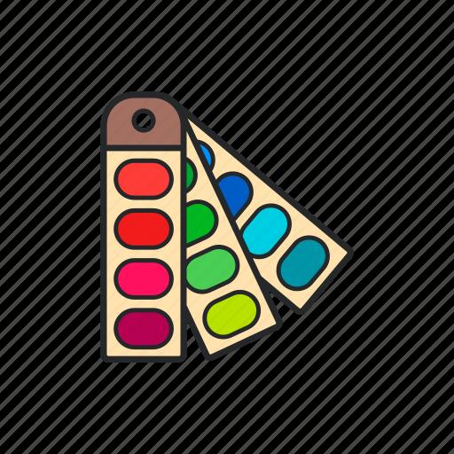 color, design, material, palette icon