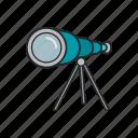 binoculars, durbin, tool, zoom icon