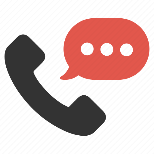bubble, call, chat, conversation, dial, phone, talk icon