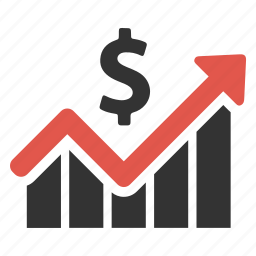 earnings, finance, financial growth, graph, income, increase, money icon