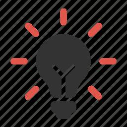 bulb, electricity, energy, idea, innovation, innovative, light bulb icon