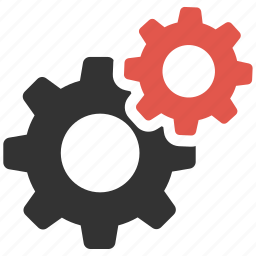 cogs, configuration, configure, gears, options, process, settings icon