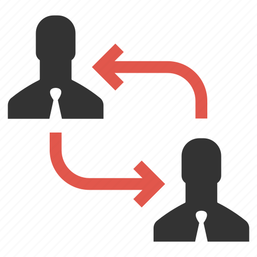 arrange, change, move, organization, people, rearrange, swap icon