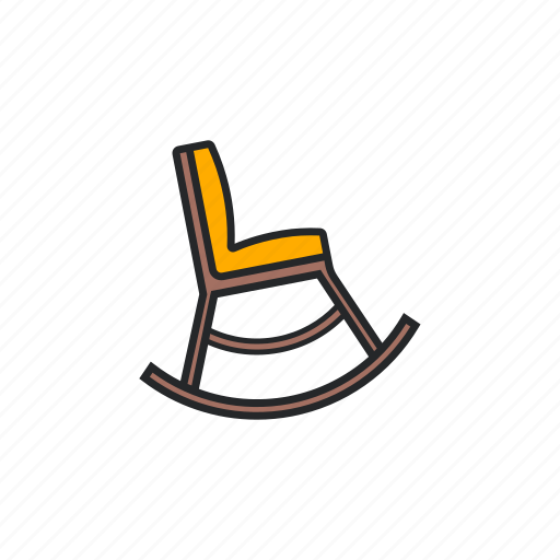 chair, seat, sit, swing icon
