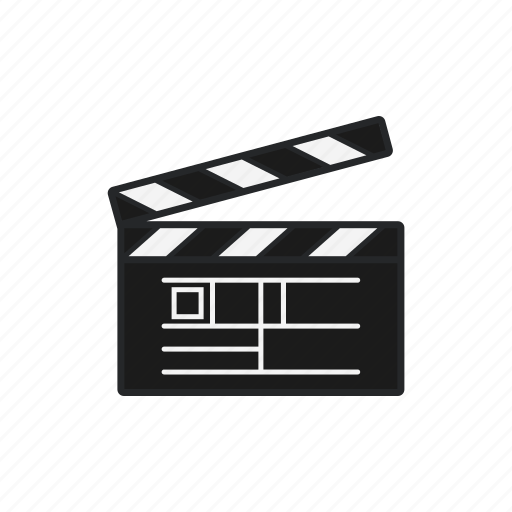 cinema, clapperboard, make a movie, movie icon
