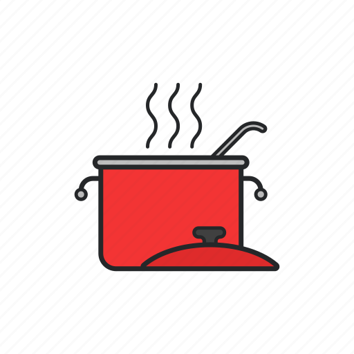 boiler, cook, kitchen, meal icon