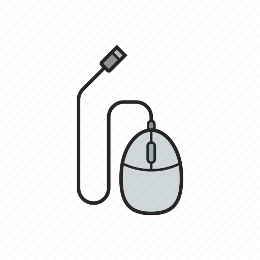 computer, mouse, technology, tool icon