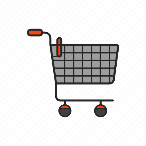 market, shop, trolley, truck icon