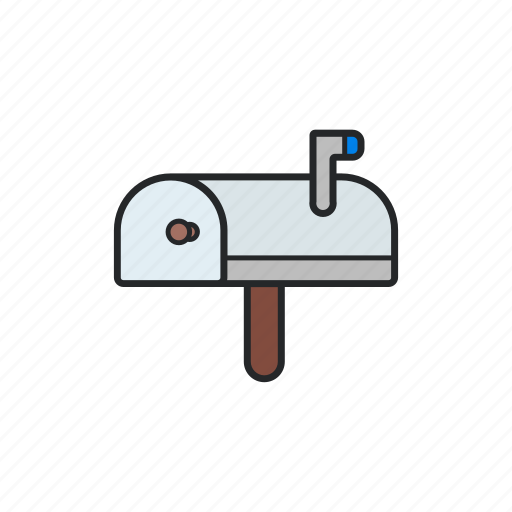 adress, email, mail, snail mail icon