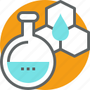 chemistry, experiment, laboratory, research, science icon
