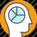 avatar, human, mind, profile, user icon