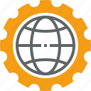 bussines, construction, global, office, work, work global icon