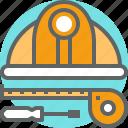 building, construction, equipment, repair, tool, work icon