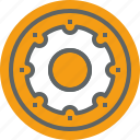 factory, industrial, industry, machine, manufacturing, production icon