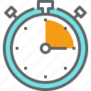 clock, deadline, event, schedule, time, timer, watch icon
