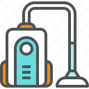 appliance, appliances, cleaner, cleaning, house, household, vacuum icon