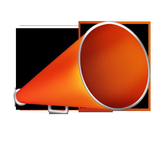 advertising, blog, bullhorn icon