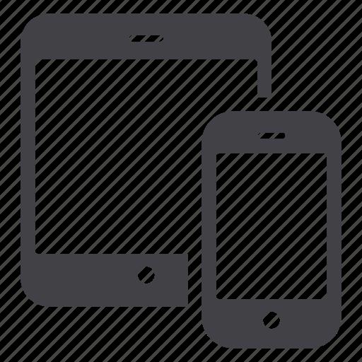 responsive, smartphone, tablet icon
