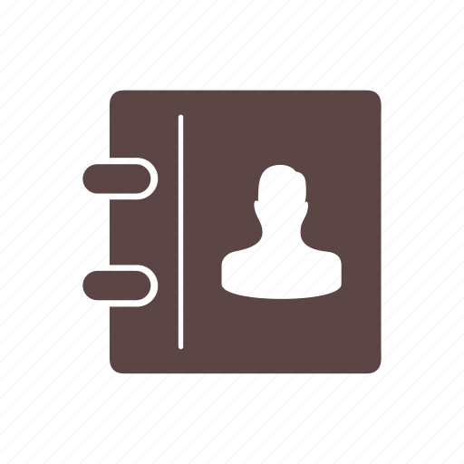 call, communication, device, list, number, phone, phonebook icon