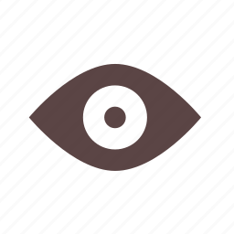 eye, hint, open, read, secure, seen, spoiler icon