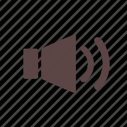 audio, loud, music, player, sound, speaker, volume icon
