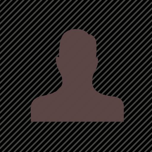 account, avatar, customer, male, man, profile, user icon