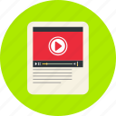 play, puse, video, video icon, youtube icon
